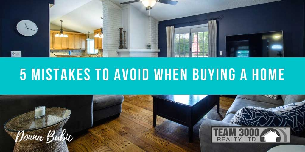 5 Mistakes to Avoid When Buying Your First House